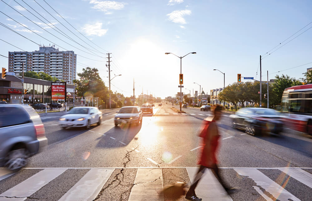 Pedestrian Accidents in Toronto